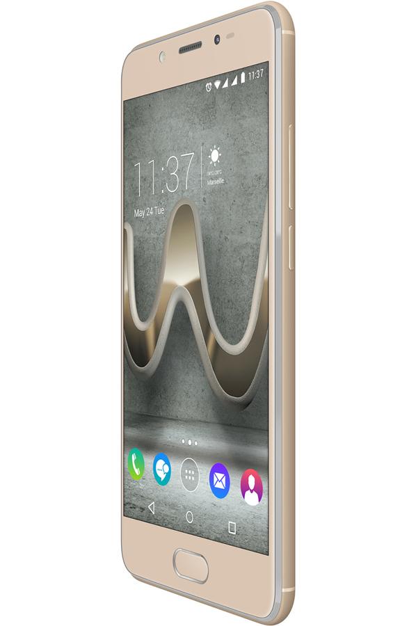 smartphone wiko u feel prime gold 4301633 darty. Black Bedroom Furniture Sets. Home Design Ideas