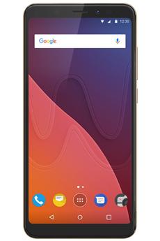 Smartphone wiko view 16 go gold - livraison offerte avec le code nouveaute
