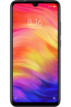 Smartphone Xiaomi REDMI NOTE 7 32Go BK