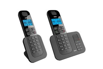 Téléphone sans fil D505 BLACK Aeg