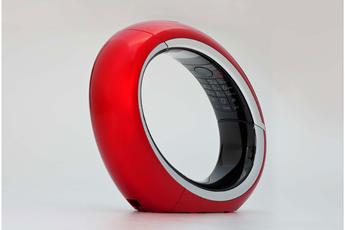 Téléphone sans fil ECLIPSE 10 rouge Aeg