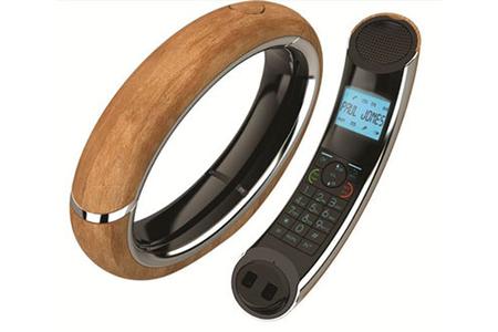 t l phone sans fil aeg eclipse 15 bois ta10r9912wo darty. Black Bedroom Furniture Sets. Home Design Ideas