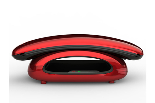t l phone sans fil aeg solo 10 rouge solo 10 rouge. Black Bedroom Furniture Sets. Home Design Ideas