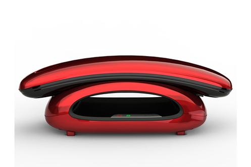 t l phone sans fil aeg solo 10 rouge solo 10 rouge ta10p9959r 3857662 darty. Black Bedroom Furniture Sets. Home Design Ideas