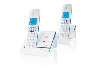 Téléphone sans fil F230 VOICE DUO BLEU Alcatel