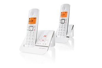Téléphone sans fil F230 VOICE DUO GRIS Alcatel