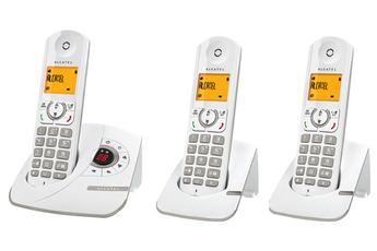 Téléphone sans fil F330 VOICE TRIO GREY Alcatel