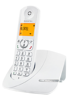 Téléphone sans fil F370 BLANC Alcatel