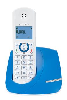 Téléphone sans fil F370 BLEU Alcatel