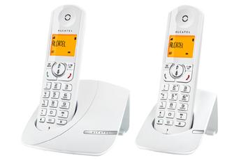 Téléphone sans fil F370 DUO BLANC Alcatel