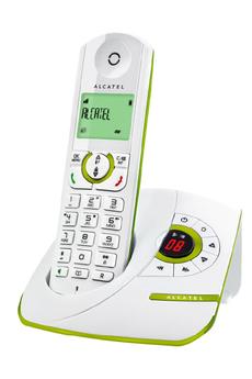 Téléphone sans fil F370 VOICE VERT Alcatel