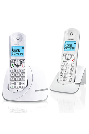 t l phone sans fil alcatel f390 duo gris darty. Black Bedroom Furniture Sets. Home Design Ideas