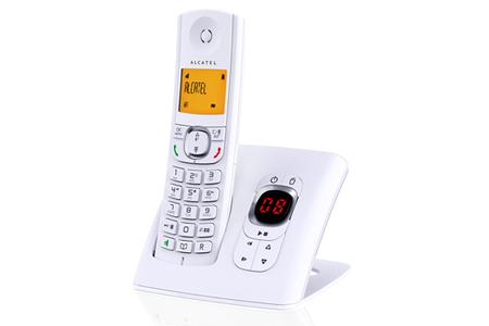 t l phone sans fil alcatel f570 voice blanc darty. Black Bedroom Furniture Sets. Home Design Ideas