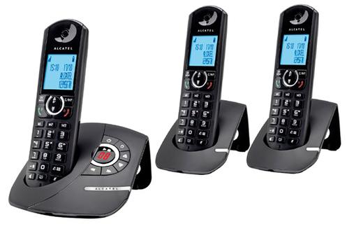 t l phone sans fil alcatel f570 voice trio 3772390. Black Bedroom Furniture Sets. Home Design Ideas