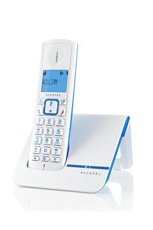 t l phone sans fil alcatel f230 bleu darty. Black Bedroom Furniture Sets. Home Design Ideas