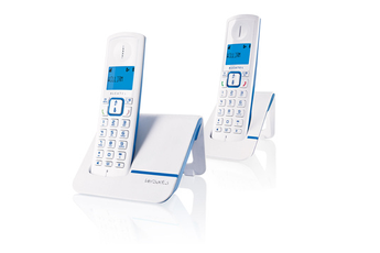 Téléphone sans fil F 230 DUO BLEU Alcatel