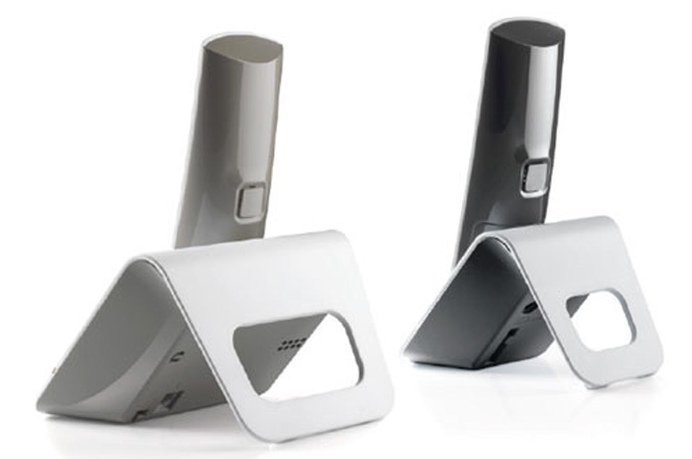 t l phone sans fil alcatel f 230 duo gris 3668282 darty. Black Bedroom Furniture Sets. Home Design Ideas