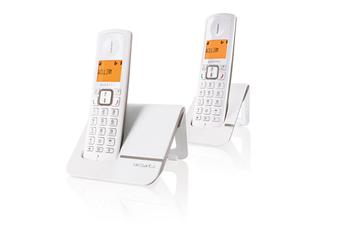 Téléphone sans fil F 230 DUO GRIS Alcatel