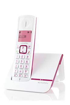 Téléphone sans fil F230 ROSE Alcatel