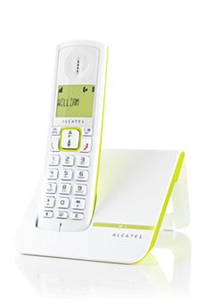 Téléphone sans fil F230 VERT Alcatel