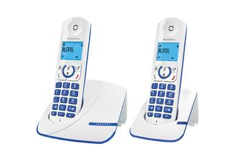 Téléphone sans fil F 330 DUO BLUE Alcatel