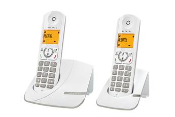 Téléphone sans fil F 330 DUO GREY Alcatel