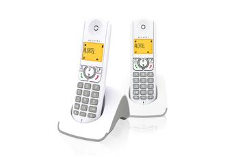 Téléphone sans fil F 330 S Duo Grey Alcatel