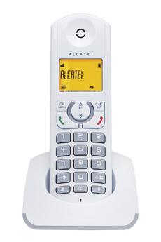 Téléphone sans fil F 330 S Solo Grey Alcatel