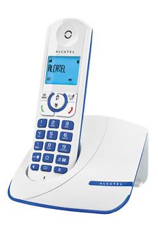 Téléphone sans fil F 330 SOLO BLUE Alcatel