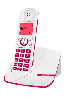 Téléphone sans fil F 330 SOLO FUSCHIA Alcatel