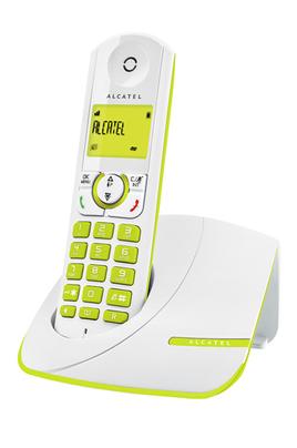 Téléphone sans fil F 330 SOLO GREEN Alcatel