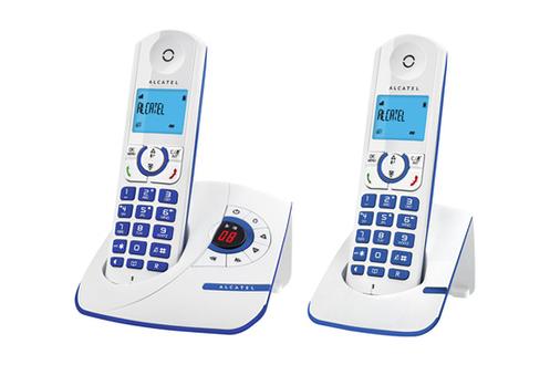t l phone sans fil alcatel f 330 voice duo blue 4072880 darty. Black Bedroom Furniture Sets. Home Design Ideas