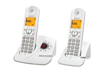 Téléphone sans fil F 330 VOICE DUO GREY Alcatel