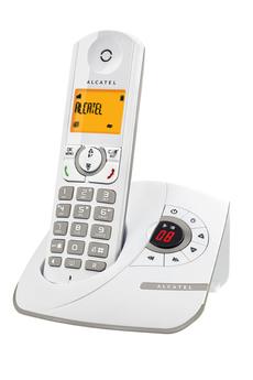 Téléphone sans fil F 330 VOICE GREY Alcatel