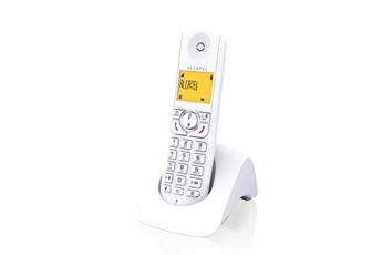 Téléphone sans fil F 370 S Solo Blanc Alcatel