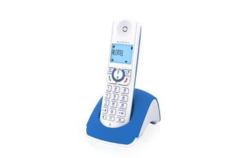 Téléphone sans fil F 370 S Solo Bleu Alcatel