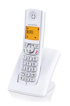 Téléphone sans fil Alcatel F 570 SOLO BLANC