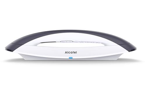 Téléphone Design sans fil sans répondeur Mains libres intégré Ecran rétro-éclairé grande qualité Répertoire 50 noms