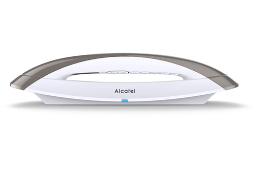 Téléphone Design sans fil avec répondeur Mains libres intégré Ecran rétro-éclairé grande qualité Répertoire 50 noms