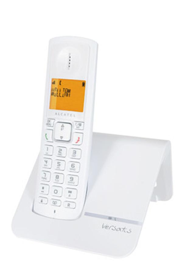 t l phone sans fil alcatel versatis f200 versatisf200 3486079 darty. Black Bedroom Furniture Sets. Home Design Ideas