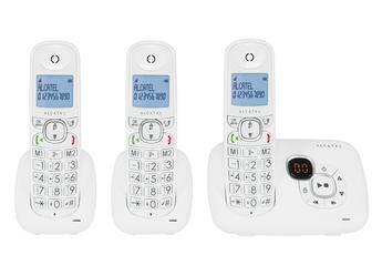 Téléphone sans fil XL 375 VOICE TRIO BLANC Alcatel