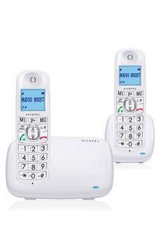 Téléphone sans fil XL 385 DUO BLANC Alcatel