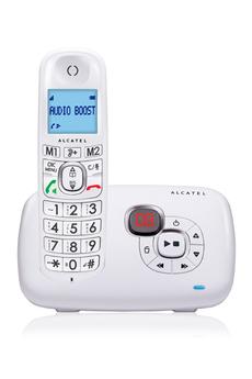 Téléphone sans fil XL 385 VOICE BLANC Alcatel