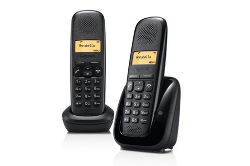 Téléphone sans fil Gigaset A150 DUO NOIR