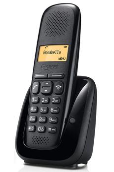 Téléphone sans fil A150 SOLO NOIR Gigaset
