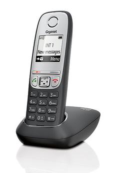 Téléphone sans fil Gigaset A415 ORIGINAL NOIR ET GRIS