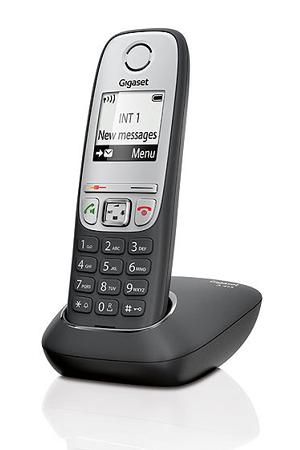 t l phone sans fil gigaset a415 original noir et gris darty. Black Bedroom Furniture Sets. Home Design Ideas