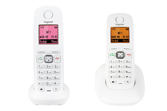 Téléphone sans fil Gigaset A545 DUO BLANC Gigaset