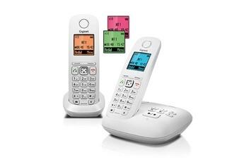 Téléphone sans fil GIGASET A545A DUO BLANC Gigaset