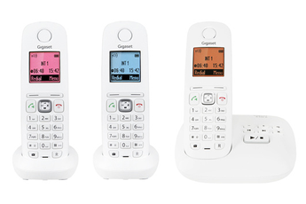 Téléphone sans fil Gigaset A545A TRIO BLANC Gigaset